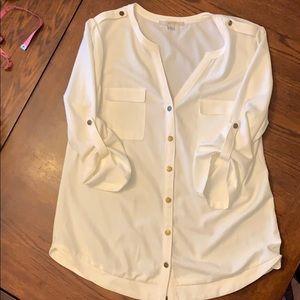 41 Hawthorn blouse sz L like new!